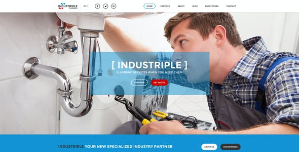 Industriple - Multi Industrial Template