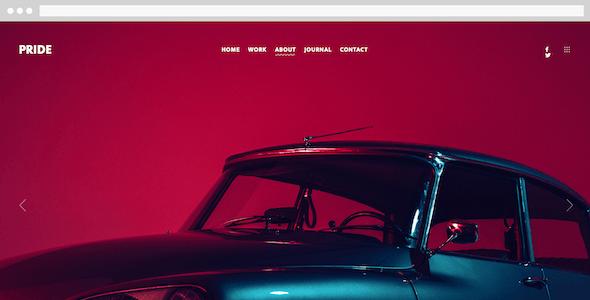 TIMBER – An Unusual Photography WordPress Theme