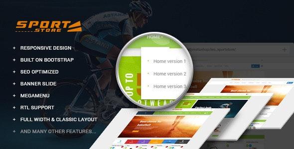 Leo Sport Store Prestashop Theme - PrestaShop eCommerce