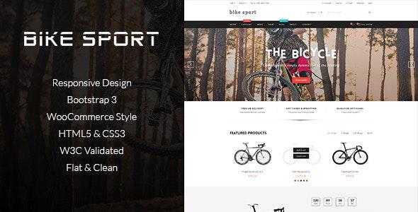 Bike Shop - HTML eCommerce Template - Shopping Retail
