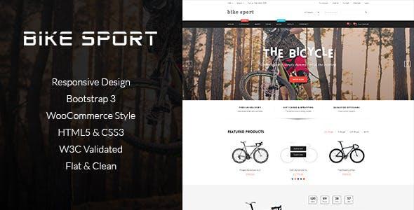 Bike Shop - HTML eCommerce Template