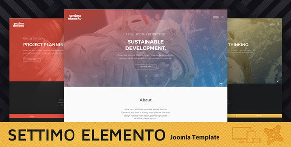 Settimo Elemento - Multi-Purpose Joomla Theme - Joomla CMS Themes