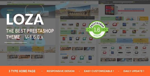 Lozastore-Multipurpose Responsive PrestaShop Theme - Shopping PrestaShop