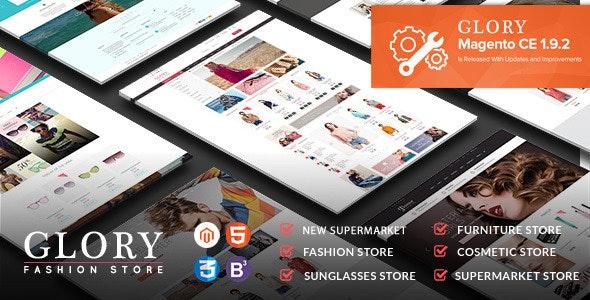 Glory - Magento Theme Multi-Styles Mobile Friendly - Fashion Magento