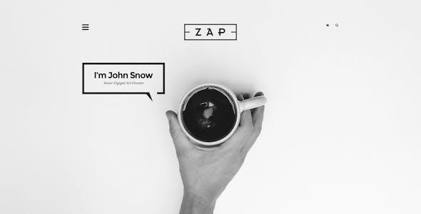 ZAP - Creative PSD Template