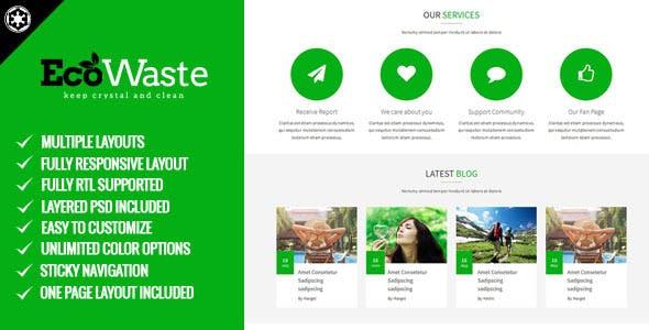 EcoWaste - Environmental HTML5 Theme