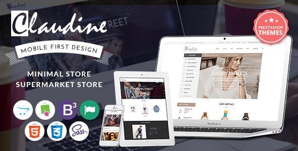 Claudine - SASS Bootstrap 3 PrestaShop Theme - Fashion PrestaShop