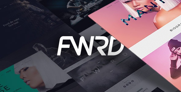 FWRD - Music Band & Musician WordPress Theme - Music and Bands Entertainment