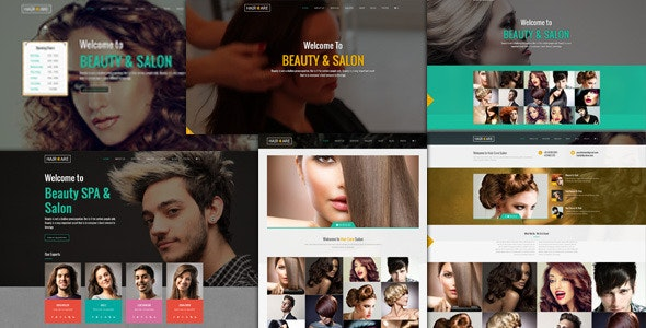 Hair Care - Responsive Salon  WordPress Theme - Fashion Retail