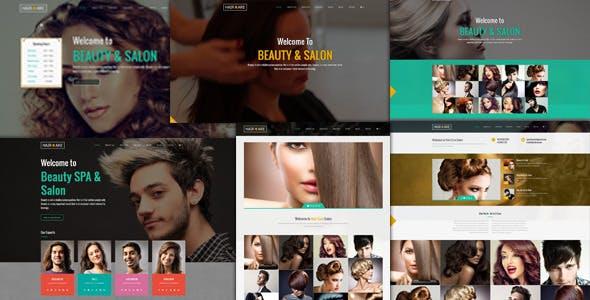 Hair Care - Responsive Salon  WordPress Theme