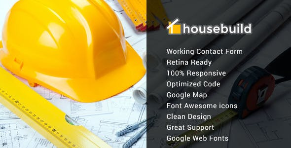 Download Housebuild - Responsive Construction Mura Theme