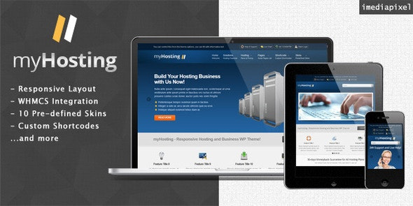 myHosting - Responsive Hosting & Business Theme - Business Corporate