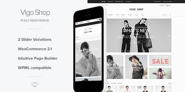 VigoShop - Elite Responsive WooCommerce Theme - WooCommerce eCommerce