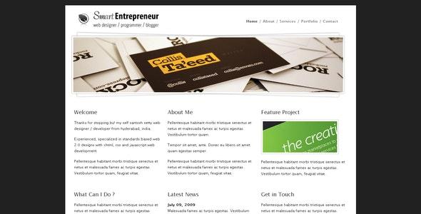 Smart Entrepreneur - Creative Site Templates
