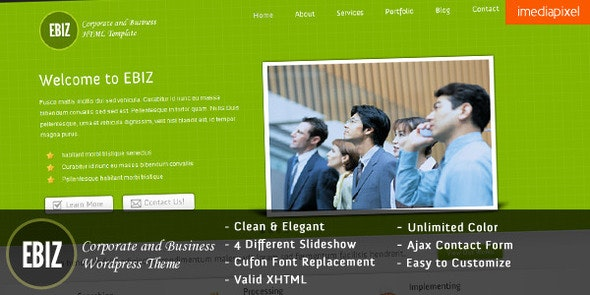 EBIZ - Corporate and Business HTML Template - Business Corporate