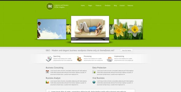 EBIZ - Corporate and Business HTML Template