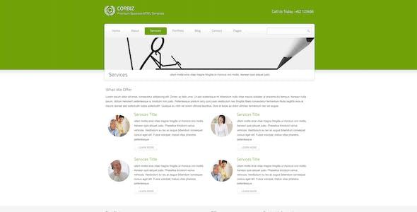corbiz - Corporate and Business HTML Template