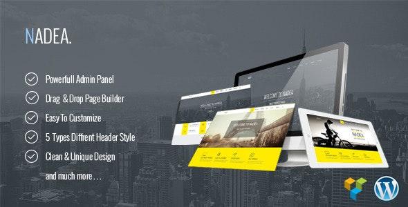 Nadea - Responsive Multi-Purpose WordPress Theme - Business Corporate