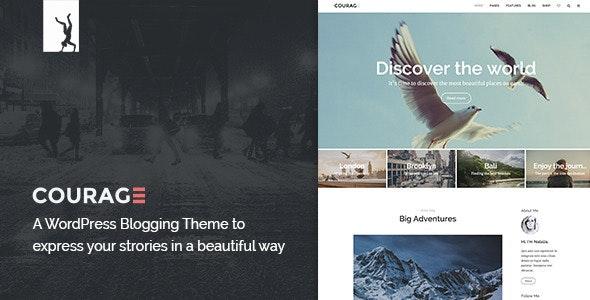 Courage - A Clean WordPress Blogging Theme - Blog / Magazine WordPress