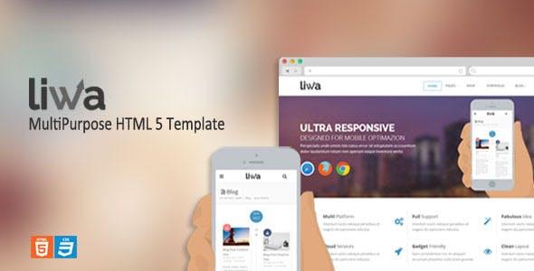 Liwa MultiPurpose HTML 5 Template