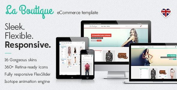 La Boutique • Responsive eCommerce Template - Shopping Retail