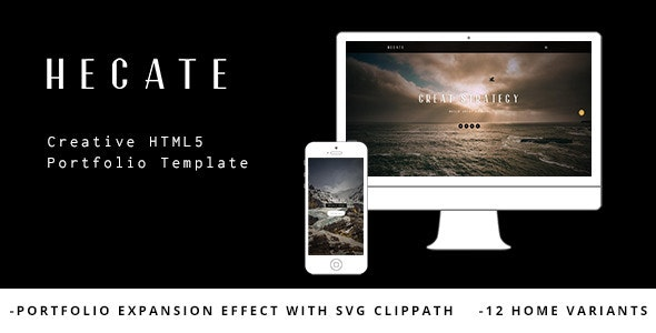 Hecate - Creative HTML5 Portfolio Template - Portfolio Creative