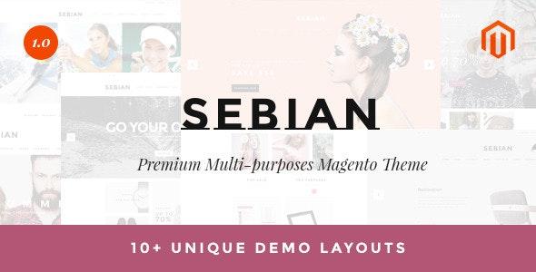 Sebian - Multipurpose Responsive Magento Theme - Magento eCommerce