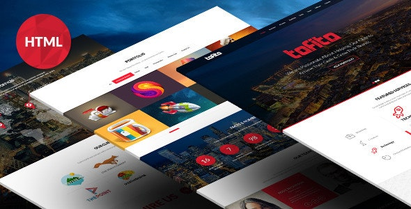 TOFITO - Responsive One Page HTML5 Template - Business Corporate