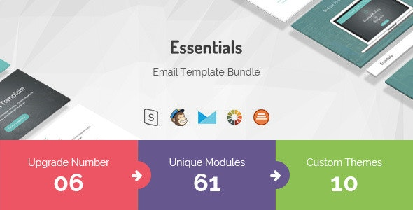 Essentials | Responsive Multi-Purpose Email Template - Newsletters Email Templates