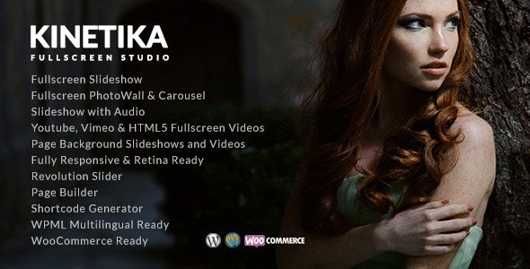 Kinetika | Photography Theme for WordPress - Photography Creative