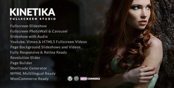 Kinetika | Photography Theme for WordPress - Photography Creative