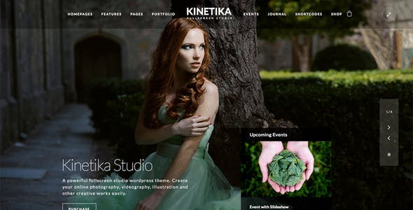 Kinetika | Photography Theme for WordPress
