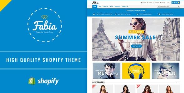 Fabia Restaurant Shopify Theme & Template