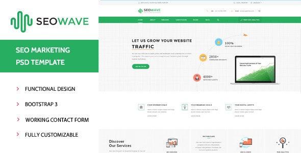 Seo Wave - Marketing HTML Template - Business Corporate