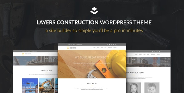 Max Construction - Layers Child Theme - Business Corporate