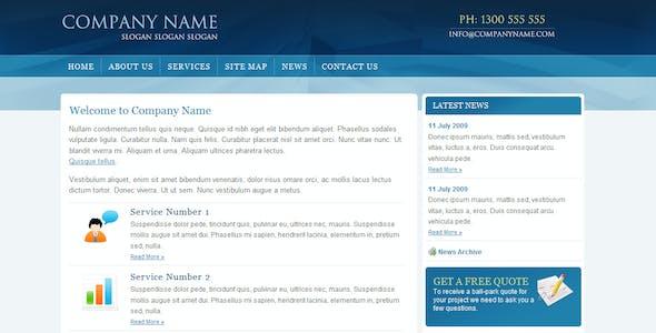 Blue Business -  HTML