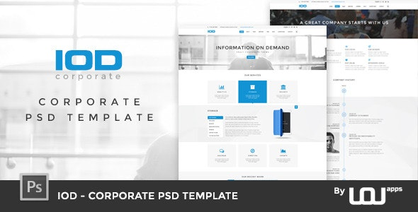 IOD - Corporate PSD Template by DirectoryThemes | ThemeForest