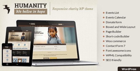 Humanity - Charity Theme - Charity Nonprofit