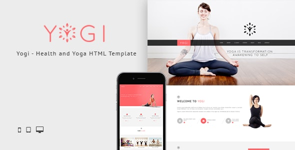 Yogi - Health Beauty & Yoga HTML Template - Health & Beauty Retail