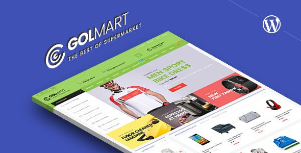 Golmart – Creative WooCommerce WordPress Theme - WooCommerce eCommerce
