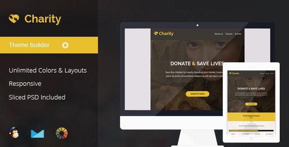 Charity Nonprofit Email Template - Email Templates Marketing