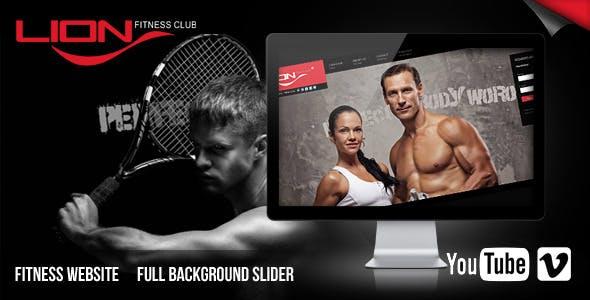 Lion Fitness Club Website