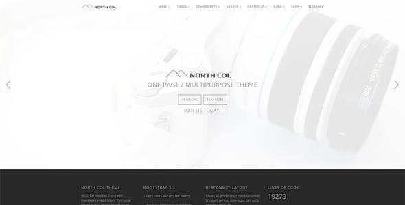 North Col - Multipurpose Template
