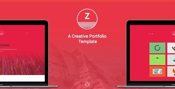 ZAG - Personal & Agency Bootstrap Template - Portfolio Creative