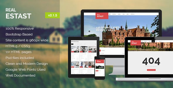 RealEstast - Real Estate HTML Template