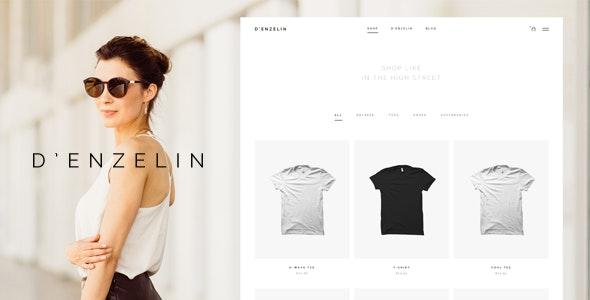 D'enzelin - HTML E-Commerce Website Template - Fashion Retail