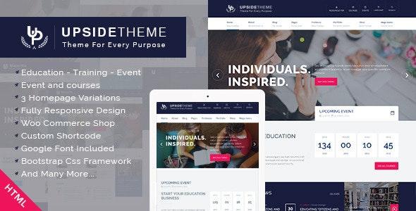 Upside - Multi Purpose HTML5 Template - Corporate Site Templates