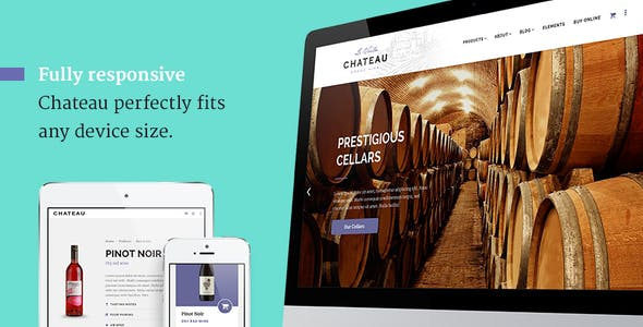 Chateau - Wine Producer & Winery Template