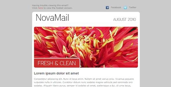 NovaMail Newsletter Template
