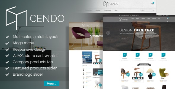 Cendo - Responsive Magento Furniture Theme - Shopping Magento
